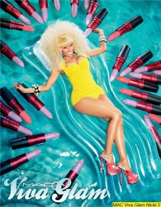 Nicki Minaj for MAC (2)