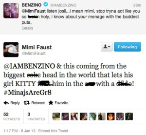 Mimi Faust and Benzino Beef (2)