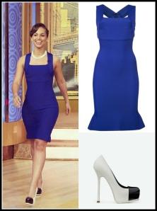 Alicia Keys Goes Royal in Blue