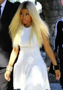 Nicki Minaj is Pretty in White (1)