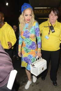 Rita Ora in Floral